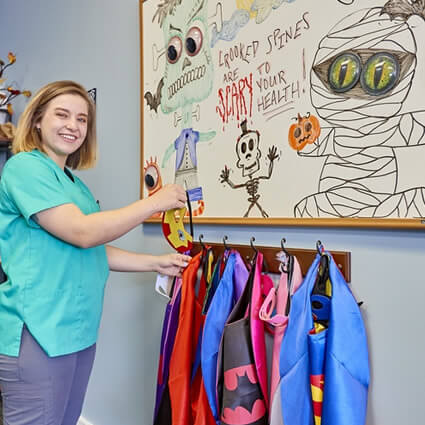 Pediatric super hero costumes