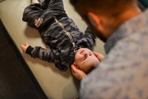 Adjusting a child