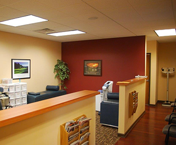 Scarton Chiropractic & Rehabilitation Clinic Adjusting Area