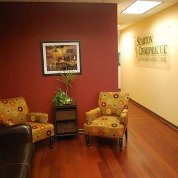 Scarton Chiropractic & Rehabilitation Clinic Waiting Area