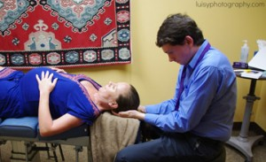 SomatoEmotional Release therapy being performed at {PRACTICE NAME}