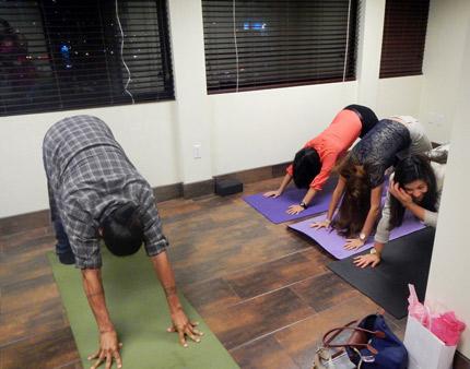 Oasis Corporate Wellness Group Yoga Classes