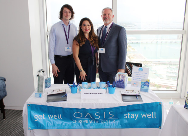 Dr. Starkman and his team at Oasis Chiropractic.