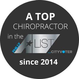 top A list chiropractor since 2014