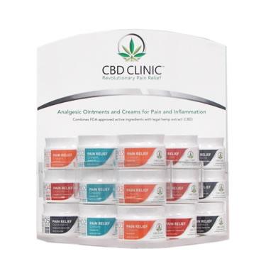 CBD Clinic diplay