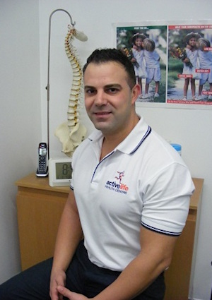 Dr Charbel Boustany, Chiropractor