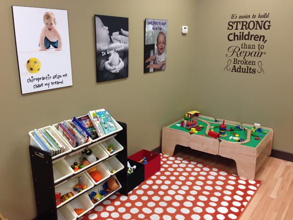 Children's area of waiting area