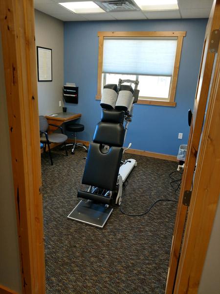 Adjustment room from door entrance