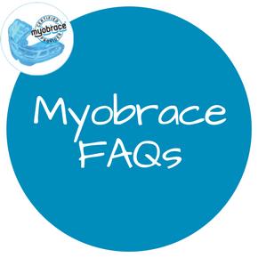 Myobrace FAQ button