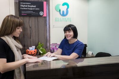 New patients at Zillmere Dentists