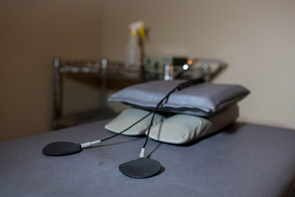 Electrical Stimulation Pads and Table