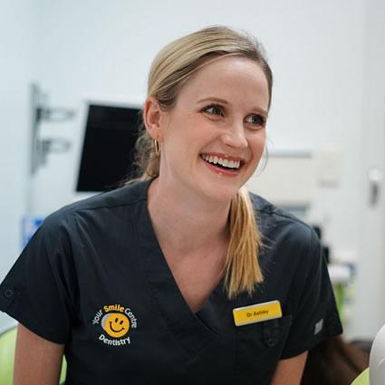 Dr Ashley smiling