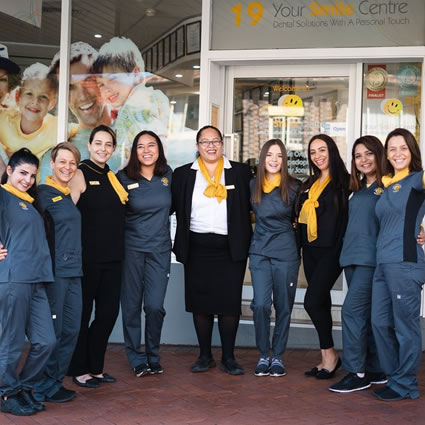 Your Smile Centre team outside