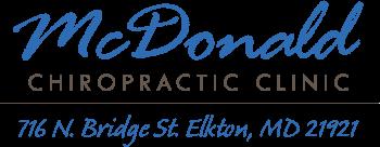 McDonald Chiropractic Clinic logo - Home