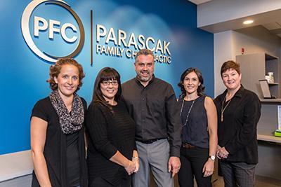 Parascak Family Chiropractic team