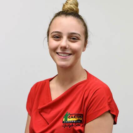 Chiara-Lee Soll, Junior Chiropractic Assistant