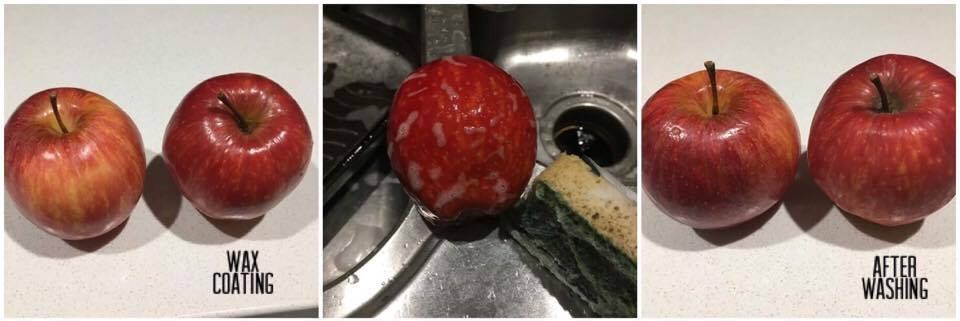 Washing Fruit