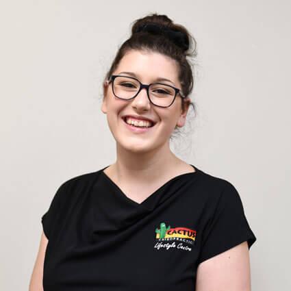 Katie Latter, Junior Chiropractic Assistant