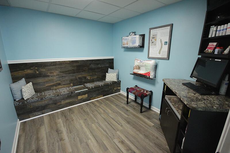 Chiropractor Royal Oak Waiting Area