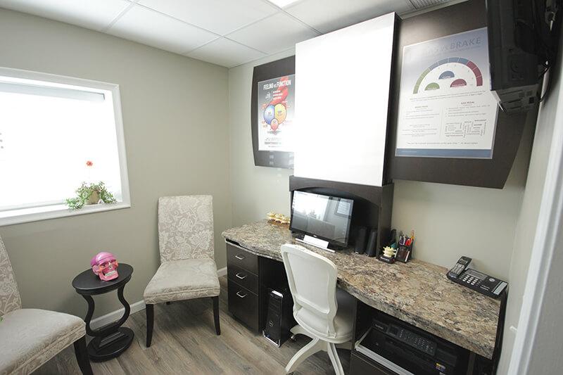 Chiropractor Royal Oak Consultation Room