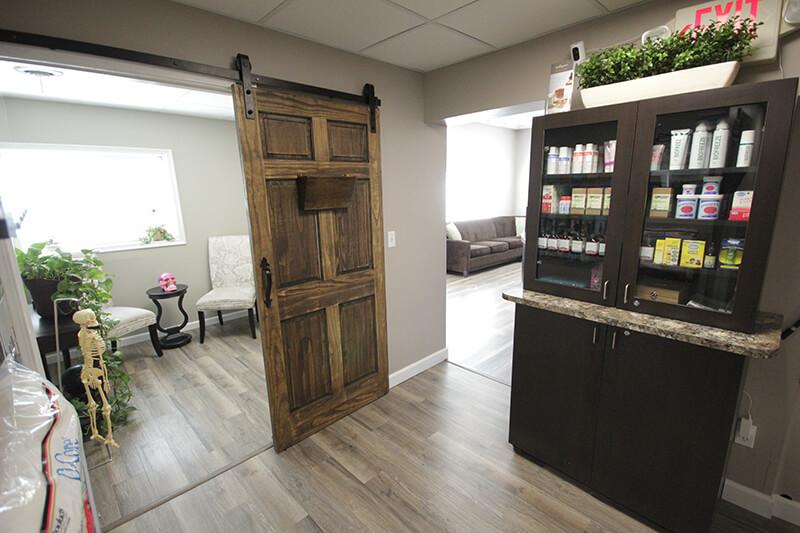 Chiropractor Royal Oak Hallway