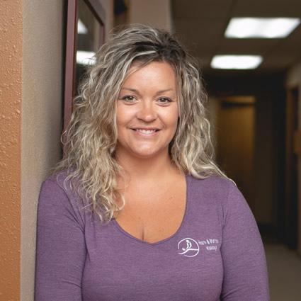 Massage therapist Morris, Christie Olhoft