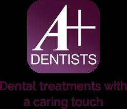 A+ Dentists logo - Home