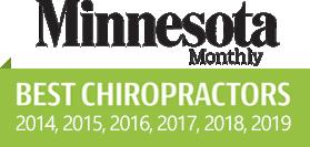 Minnesota Monthly Best Chiropractors award