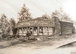 sketch of Maher and Buck Chiropractic at 8641 Watson Rd St. Louis, MO