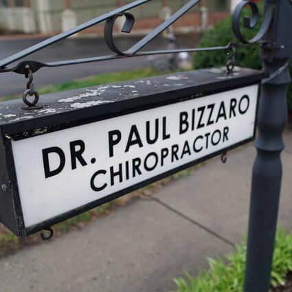Paul M. Bizzaro, D.C.'s sign
