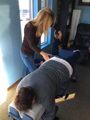 Examination by Chiropractor Northeast Colorado Springs, Michelle Caplan