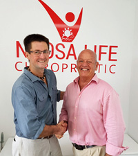 Portrait of Tewantin Chiropractors, Dr  Richard Singer and Dr Mathew O'Keeffe