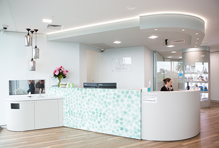 Reception at Dentist WA Canning Vale