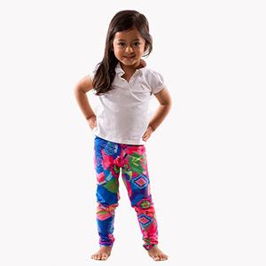 Mini Me Thalia Print Full Leggings