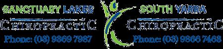 Sanctuary Lakes Chiropractic logo - Home
