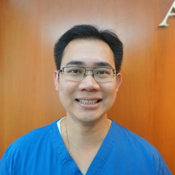 Portrait of Toowong Dentist, Dr Jim Chuang
