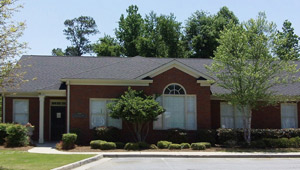 Porter Family Chiropractic Center office building in Marietta