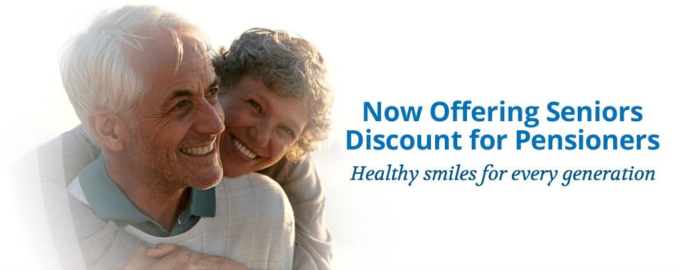 Senior Discount for Pensioners