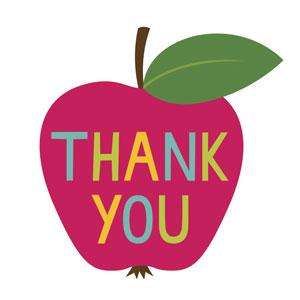 Apple thank you