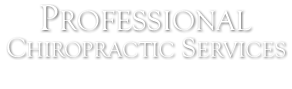 Professional Chiropractic Services logo - Home