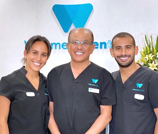 Willsmere Dental team smiling