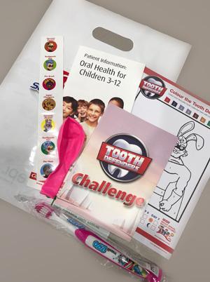 Children's gift packs from Willsmere Dental