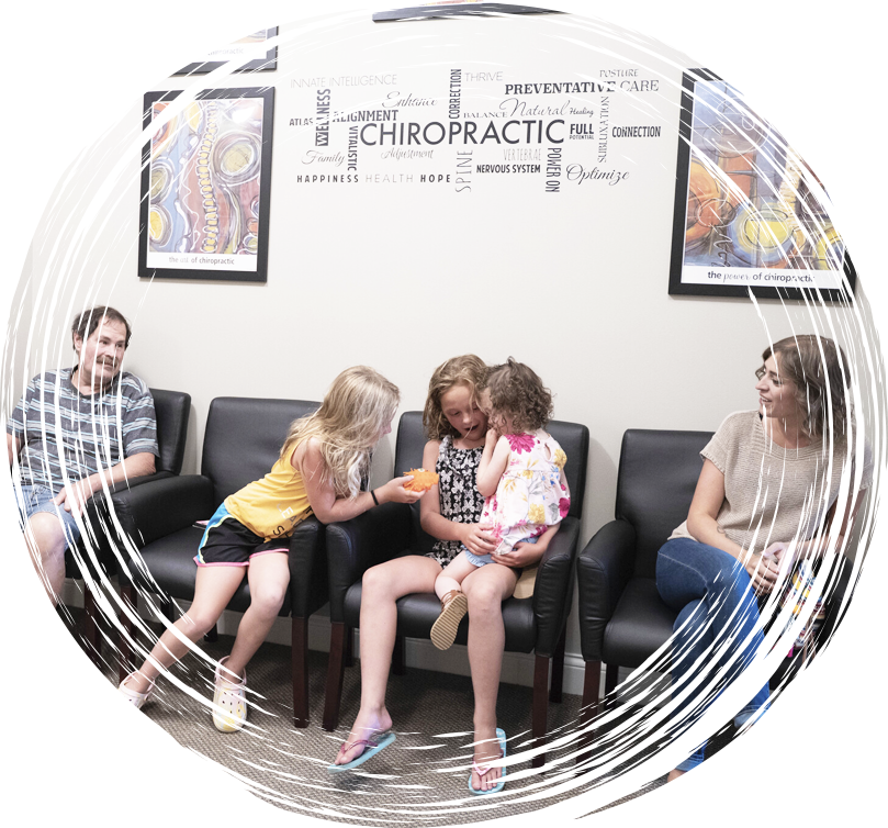 Patients in waiting area