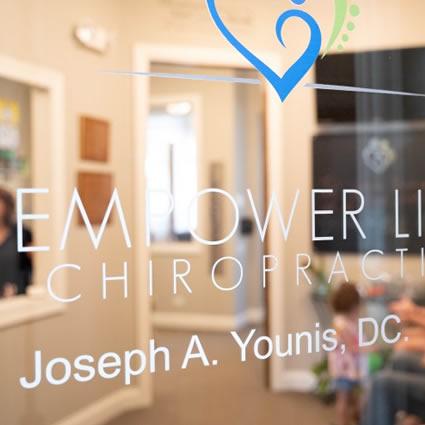 Empower Life Chiropractic door