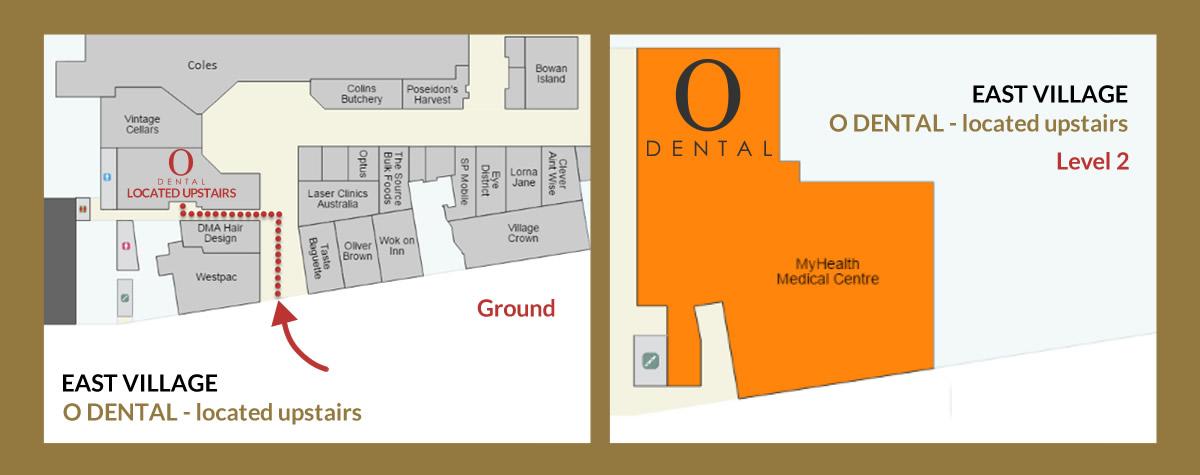 Dentist Zetland Location Map