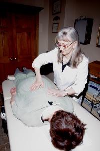 Dr. Cook Chiropractic Adjustment