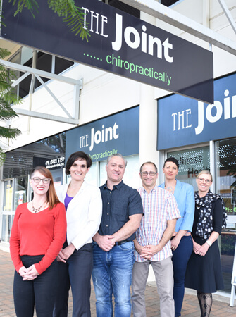 The team at The Joint Chiropractically