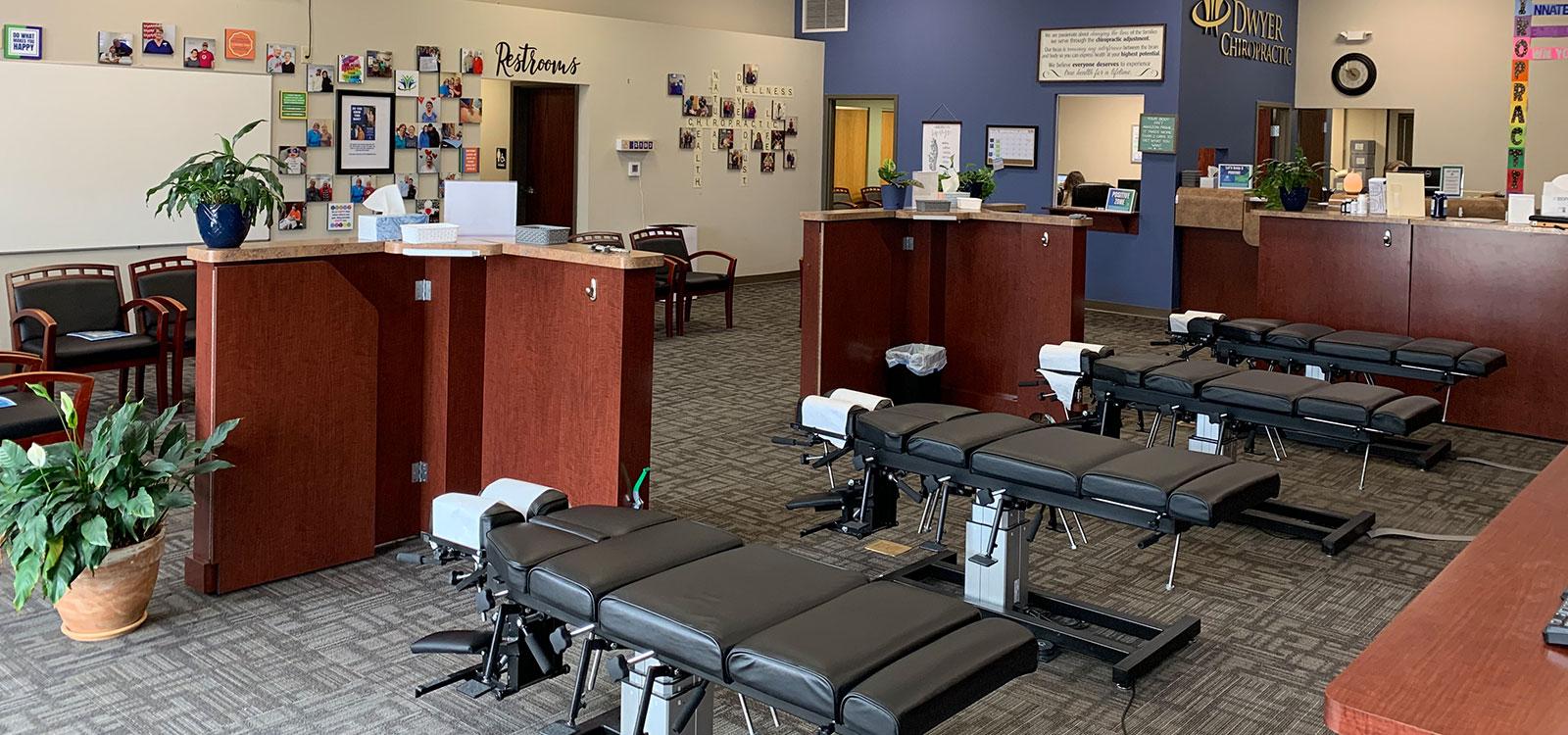 Dwyer Chiropractic office interior