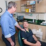 dr paul with patient
