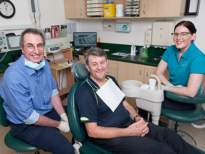 patient receiving dental care in Forest Lake